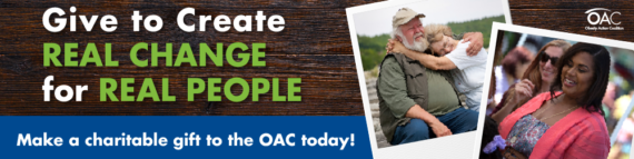 Please consider making a charitable gift to the OAC today!